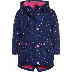Mothercare HEART  Parka navy. Niebieskie kurtki dziewczęce marki mothercare, z materiału. Za 129,00 zł.
