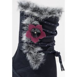 Friboo Śniegowce dark blue. Czerwone buty zimowe damskie marki Friboo, z materiału. W wyprzedaży za 125,95 zł.