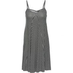 Sukienki: Sukienka shirtowa bonprix czarno-biały wzorzysty