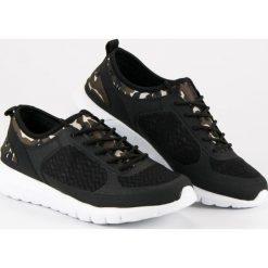 Buty skate męskie: Wsuwane buty sportowe moro MERG czarne