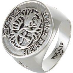 Sygnety męskie: Rebel Heritage TRINITY Pierścionek silvercoloured