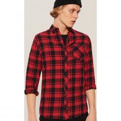 Koszula w kratkę - Czerwony. Czerwone koszule męskie w kratę House, l. Za 79,99 zł.