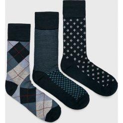 Pepe Jeans - Skarpety Glen (3-pack). Czarne skarpetki męskie Pepe Jeans, z elastanu. Za 79,90 zł.