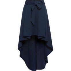 Spódnica z dłuższym tyłem bonprix ciemnoniebieski. Niebieskie spódnice wieczorowe bonprix, w paski. Za 109,99 zł.