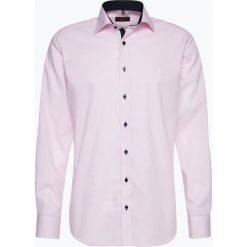 Koszule męskie na spinki: Eterna Modern Fit – Koszula męska niewymagająca prasowania, różowy
