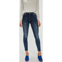 Haily's - Jeansy Kitten. Niebieskie jeansy damskie marki House, z jeansu. W wyprzedaży za 129,90 zł.