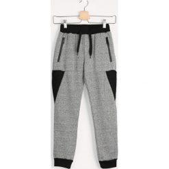 Chinosy chłopięce: Szare Spodnie Dresowe Ninja