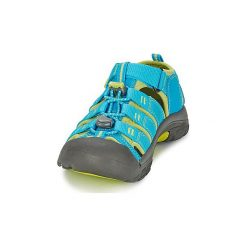 Sandały sportowe Dziecko  Keen  KIDS NEWPORT H2. Niebieskie buty sportowe chłopięce Keen. Za 188,30 zł.