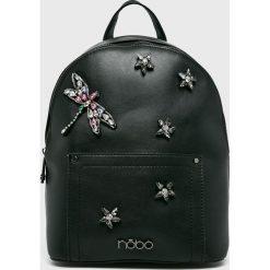 Nobo - Plecak. Czarne plecaki damskie Nobo, z materiału. W wyprzedaży za 189,90 zł.