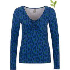 """Bluzki asymetryczne: Koszulka """"Olaia"""" w kolorze niebieskim"""