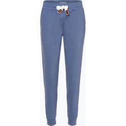 Marie Lund - Damskie spodnie dresowe, niebieski. Niebieskie bryczesy damskie Marie Lund, l, z dresówki. Za 99,95 zł.
