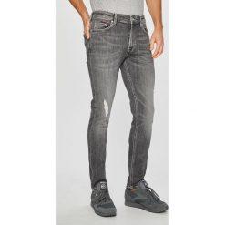 Tommy Jeans - Jeansy Simion. Szare rurki męskie Tommy Jeans, z bawełny. Za 499,90 zł.