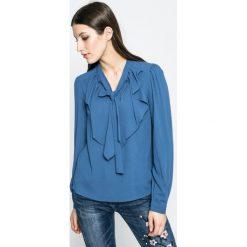 Vero Moda - Bluzka. Szare bluzki z odkrytymi ramionami marki Vero Moda, l, z elastanu, casualowe. W wyprzedaży za 79,90 zł.