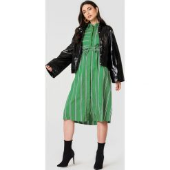 Sukienki hiszpanki: MANGO Sukienka Tuti - Green