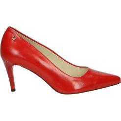 Czółenka - 18-45 P R J18. Różowe buty ślubne damskie Venezia, ze skóry. Za 199,00 zł.