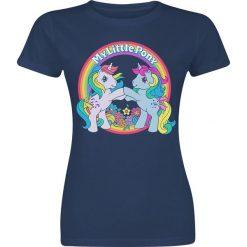My Little Pony Flowers Koszulka damska granatowy. Niebieskie bluzki asymetryczne My little Pony, m. Za 74,90 zł.