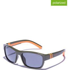 Okulary przeciwsłoneczne męskie lustrzane: Okulary męskie w kolorze oliwkowo-niebieskim