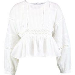 Bluzki asymetryczne: Navy London TEDDIE Bluzka white