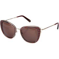 """Okulary przeciwsłoneczne damskie aviatory: Okulary przeciwsłoneczne """"SR773703"""" w kolorze bordowym"""