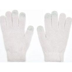 Rękawiczki do ekranów dotykowych - Jasny szary. Szare rękawiczki damskie Cropp. Za 14,99 zł.