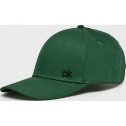 Calvin Klein - Czapka. Szare czapki z daszkiem męskie Calvin Klein. Za 119,90 zł.