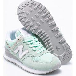 New Balance - Buty WL574ESM. Szare buty sportowe damskie marki New Balance, z materiału. W wyprzedaży za 299,90 zł.