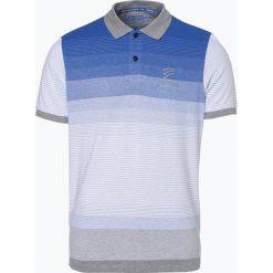 Ocean Cup - Męska koszulka polo, niebieski. Niebieskie koszulki polo Ocean Cup, m, w paski. Za 129,95 zł.