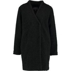 Płaszcze damskie pastelowe: ICHI TIMBA  Krótki płaszcz black