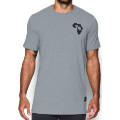 Under Armour Koszulka męska Ali Rumble In The Jungle Tee Szara r. S (1299025-035). Szare t-shirty męskie marki Under Armour, z elastanu, sportowe. Za 101,16 zł.