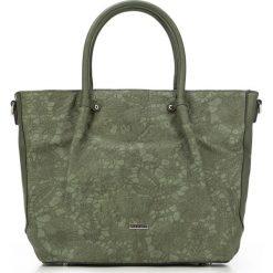Torebka damska 87-4Y-550-Z. Zielone torebki klasyczne damskie marki Wittchen, w koronkowe wzory, z koronki, z koronką. Za 179,00 zł.