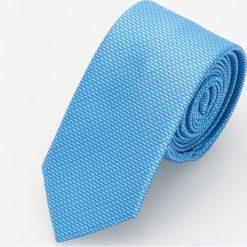 Krawaty męskie: Błękitny krawat – Niebieski