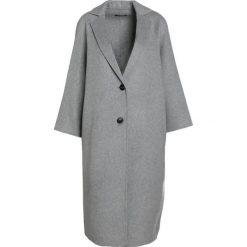 Płaszcze damskie pastelowe: Bruuns Bazaar ODA  Płaszcz wełniany /Płaszcz klasyczny light grey mel