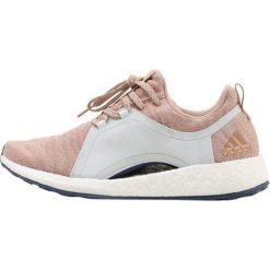 Buty damskie: adidas Performance PUREBOOST X Obuwie do biegania treningowe ash pearl/blutin