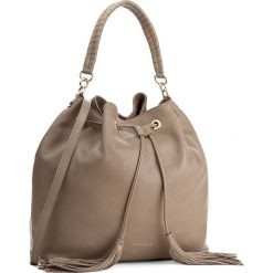 Torebka COCCINELLE - AN0 Leonie E1 AN0 23 02 01 Taupe 175. Brązowe torebki worki Coccinelle, ze skóry. W wyprzedaży za 809,00 zł.