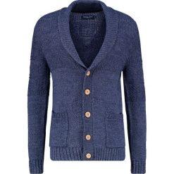Swetry rozpinane męskie: Pier One Kardigan blue melange