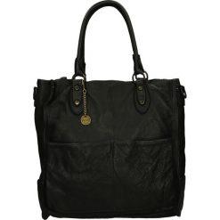 Torba - 4-LAV69-O NER. Żółte torebki klasyczne damskie Venezia, ze skóry. Za 599,00 zł.