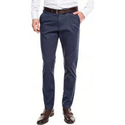 Spodnie court 216 niebieski slim fit. Szare rurki męskie marki Recman, m, z długim rękawem. Za 149,99 zł.