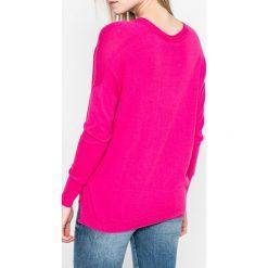 Pepe Jeans - Sweter Allen. Szare swetry klasyczne damskie Pepe Jeans, l, z bawełny. W wyprzedaży za 159,90 zł.