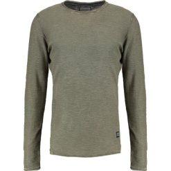 Swetry klasyczne męskie: Shine Original Sweter light army