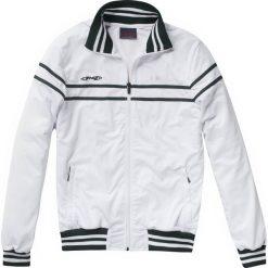 Kurtki sportowe męskie: Stag Comfort szkolenia kurtka – Mężczyźni – biały / green_s