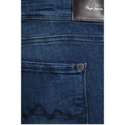 Pepe Jeans - Jeansy. Niebieskie jeansy damskie marki Pepe Jeans, z bawełny. W wyprzedaży za 239,90 zł.
