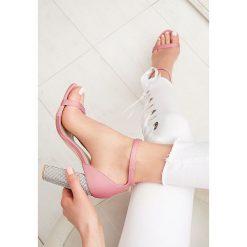 Sandały damskie: Różowe Sandały Great Fall