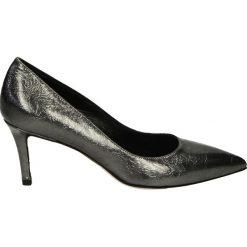 Czółenka - 2002 C V ACCI. Czarne buty ślubne damskie Venezia, ze skóry. Za 239,00 zł.