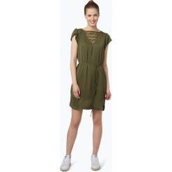 Vila - Sukienka damska – Vimelli, zielony. Zielone sukienki koronkowe marki Vila, l, w koronkowe wzory, z dekoltem na plecach. Za 179,95 zł.