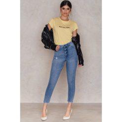 Spodnie damskie: Cheap Monday Jeansy Donna Washed Out - Blue