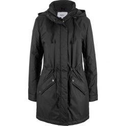 Płaszcz bonprix czarny. Czarne płaszcze damskie bonprix. Za 179,99 zł.
