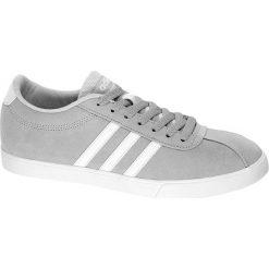 Buty sportowe damskie: buty damskie Adidas Courtset W adidas popielate