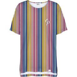 Colour Pleasure Koszulka damska CP-033 264 żółto-niebieska r. uniwersalny. T-shirty damskie Colour pleasure, uniwersalny. Za 76,57 zł.