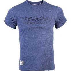 PROJEKT 86 Koszulka T-shirt 011GY niebieska r. XL (921407). Białe koszulki sportowe męskie marki Adidas, l, z jersey, do piłki nożnej. Za 59,62 zł.