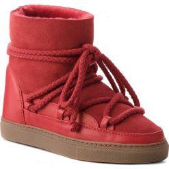 Buty INUIKII - Sneaker Classic 70202-5 Red. Czerwone buty zimowe damskie marki Reserved, na niskim obcasie. Za 1049,00 zł.